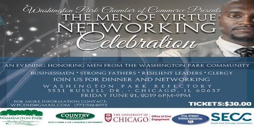 Men of Virtue Business Networking Event-Honoring the Men of Washington Park