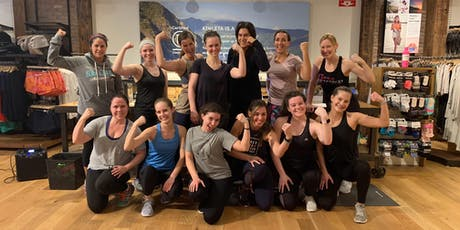 FREE Outdoor Workout - Shred415 East Side at Athleta Bayshore tickets