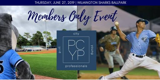 PCYP Members Only Social at the Wilmington Sharks Ball Park