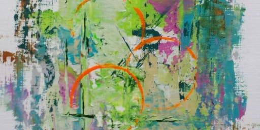 1 Full Day: Open Abstract Painting w/ Art Cornell