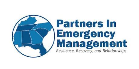 2019 Partners in Emergency Management Workshop tickets