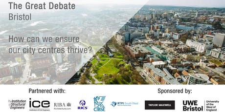 The Great Debate | Bristol | How can we ensure our city centres thrive? tickets