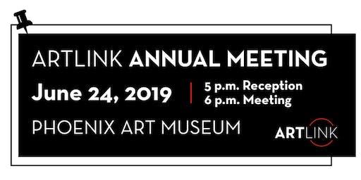 Artlink Annual Meeting - June 24, 2019