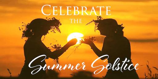 June Red Tent Summer Solstice