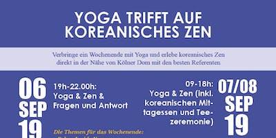 Yoga trifft auf koreanisches Zen (Teezeremonie/Essenszeremonie)