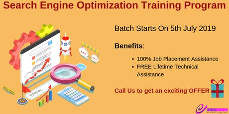 Search Engine Optimization (SEO) Training Program tickets