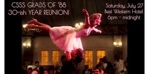CSSS Grads of '88 - 30-ish Reunion