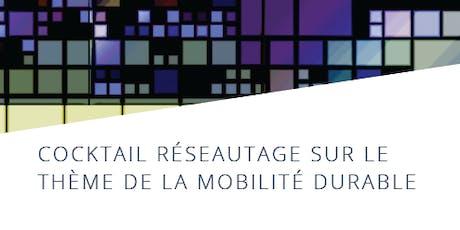 Cocktail réseautage sur le thème de la mobilité durable billets