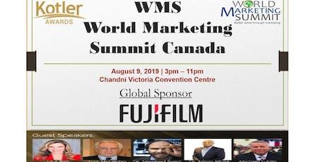 World Marketing Summit & Kotler Awards tickets