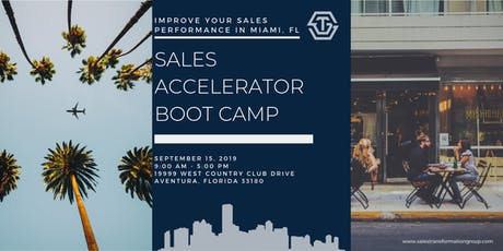 Sep '19 // Miami Sales Accelerator Bootcamp with Ryan Groth (1 day) tickets