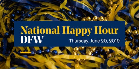 Dallas/Fort Worth –National Happy Hour tickets