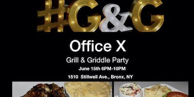 Office X  Grill & Griddle Party