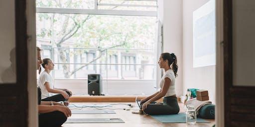 Yoga for Stress and Anxiety Workshop Brisbane w/ Emma Ceolin