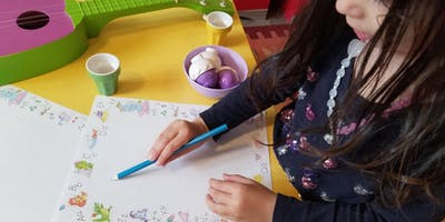 Monday Little Hands Camp for 2-4 year olds