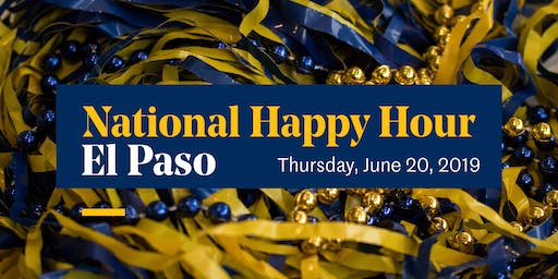 El Paso – National Happy Hour