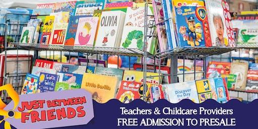 JBF Harrisburg/Hershey - Teachers & Childcare Providers - FREE!