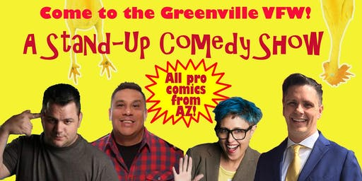 Comedy Night at the Greenville VFW