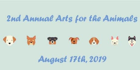 2nd Annual Arts for the Animals tickets