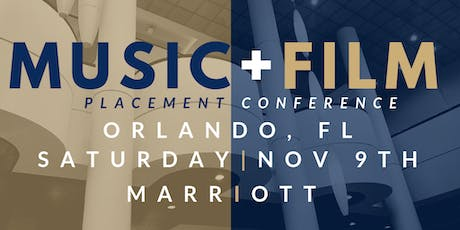 Orlando Music + Film Placement Conference tickets