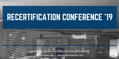 2019 Recertification Conference tickets