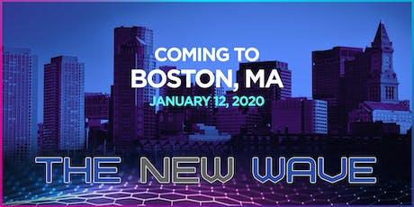 The New Wave Movement - Boston, MA tickets
