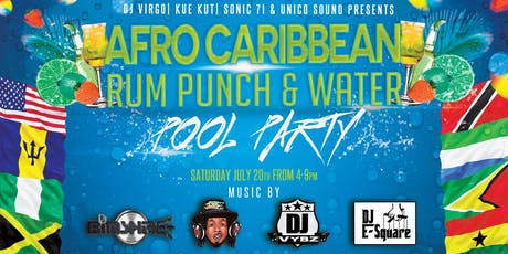 Afro Caribbean Pool Party tickets