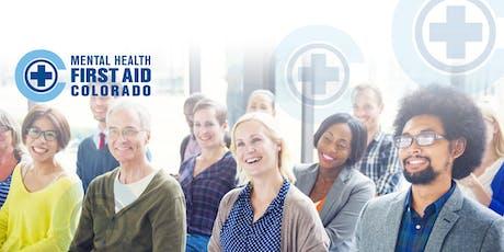 Primeros Auxilios para la Salud Mental - 27 y 28 de junio 2019 5:30 p.m. to 9:00 p.m. tickets
