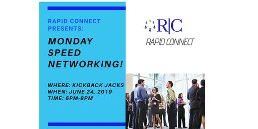 Rapid Connect Presents: Monday Speed Networking!