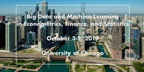 Big Data and Machine Learning in Econometrics, Finance, and Statistics tickets
