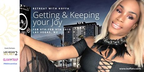 Retreat with Koffa: Getting & Keeping your Joy: Sponsorship Portal tickets