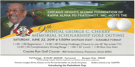 9th Annual George C. Cherry, III Memorial Scholarship Golf Outing tickets