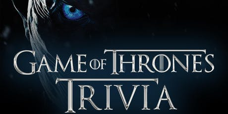 Game of Thrones Trivia at Growler USA Wynwood tickets