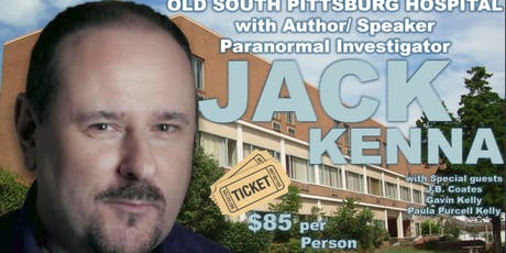 Private Investigation Of OSPHPRC With Jack Kenna tickets