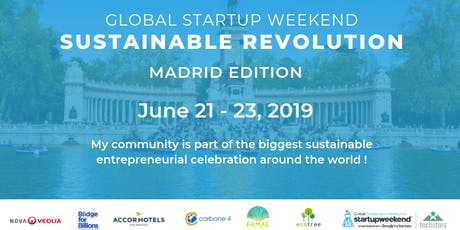 Global Startup Weekend Sustainable Revolution Madrid Edition entradas
