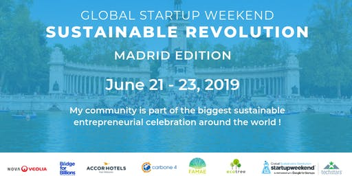Global Startup Weekend Sustainable Revolution Madrid Edition