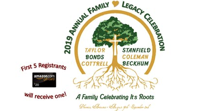 2019 Annual Family Legacy Celebration tickets