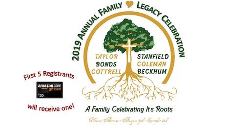 2019 Annual Family Legacy Celebration