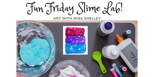 Frozen! Let it Snow Slime Lab with Miss Shelley (Fri 2:30-3:30)