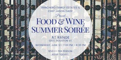 Range: Food & Winner Summer Soiree with Trinchero Estates