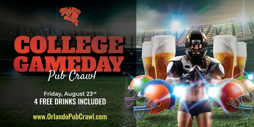 College Gameday Pub Crawl
