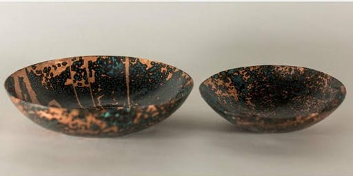 Hand-hammered Copper Bowls with Amanda Barker 8.18.19