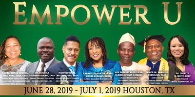 AFRICAN Icons Empower U Conference & Graduation Houston Texas