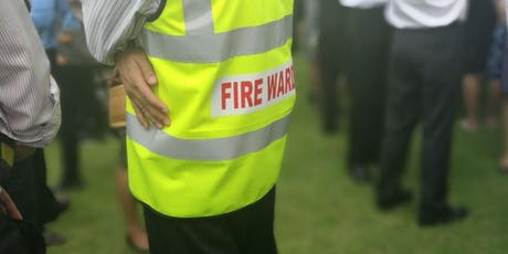 Nominated Fire Warden/Marshal Training with Hands on Extinguisher Operation tickets