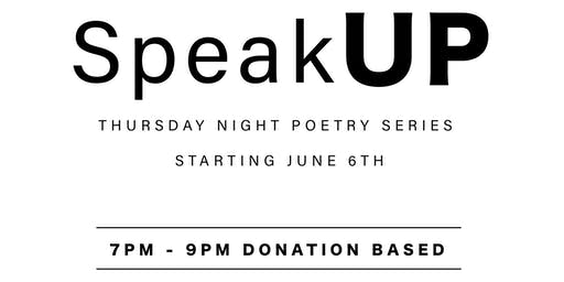 FREE EVENT: Thursday Night Poetry