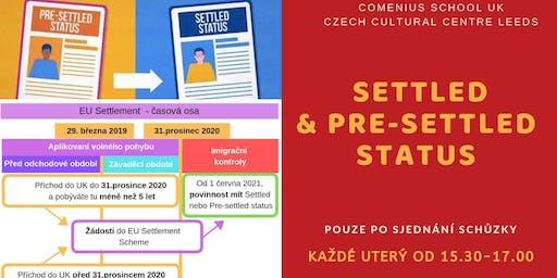 Settled a Pre-settled status aplikace for Czech and Slovak citizens