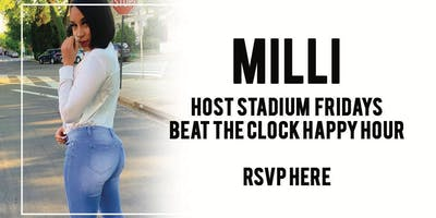 Milli Host @ Stadium Club DC Friday May 24th