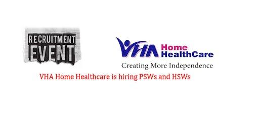Job Fair: VHA Home Healthcare