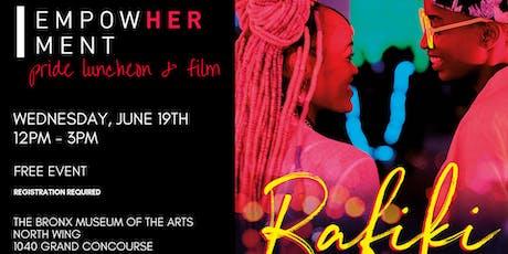 EmpowHERment Pride Luncheon & Film tickets