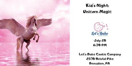 Kid's Night: Unicorn Magic tickets