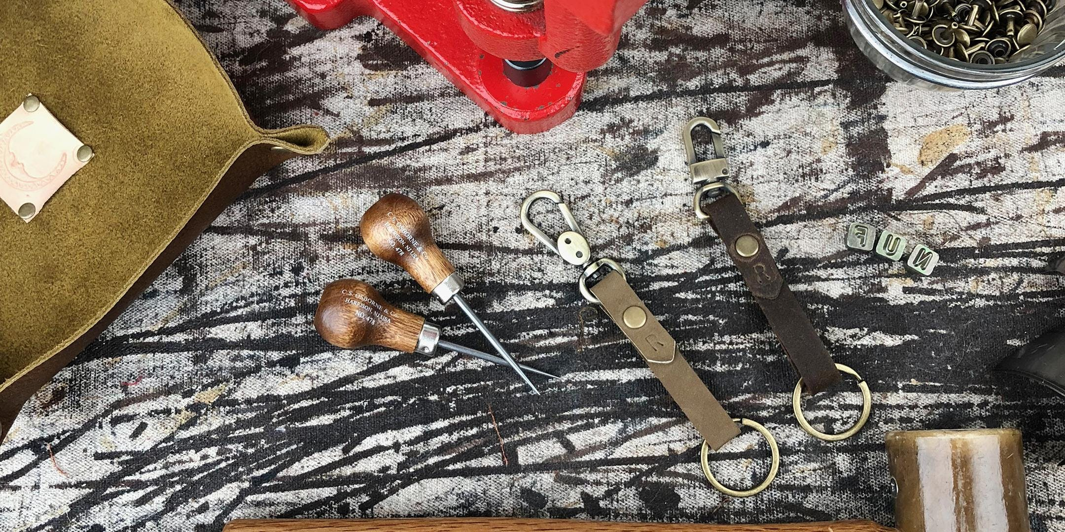 Intro To Leather Working banner